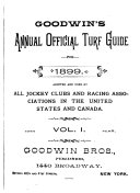 Goodwin s Official Annual Turf Guide for
