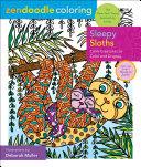 Zendoodle Coloring Sleepy Sloths