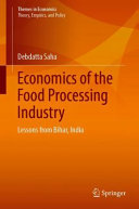 Economics of the Food Processing Industry Book