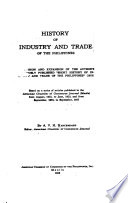 History of Industry and Trade of the Philippines