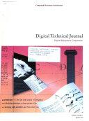 Digital Technical Journal of Digital Equipment Corporation