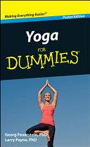 Yoga For Dummies, Pocket Edition