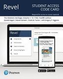 Revel for the Western Heritage    Access Card Book PDF