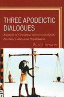 Three Apodeictic Dialogues Book