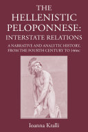 Pdf The Hellenistic Peloponnese Telecharger