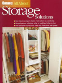 Ortho's All about Storage Solutions