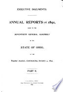 Annual Reports for      Made to the     General Assembly of the State of Ohio