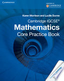 Books - Cambridge Igcse� Mathematics Core Practice Book | ISBN 9781107609884