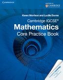 Cambridge IGCSE Core Mathematics Practice Book