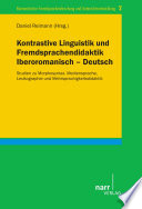 Kontrastive Linguistik und Fremdsprachendidaktik Iberoromanisch – Deutsch