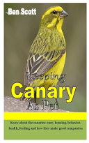 Keeping Canary as Pet