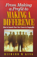 From Making a Profit to Making a Difference