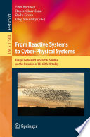 From Reactive Systems to Cyber Physical Systems