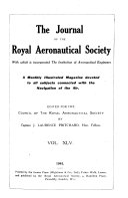 The Journal of the Royal Aeronautical Society