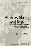 Alpacas  Sheep  and Men