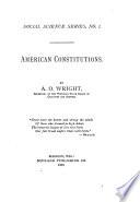 American Constitutions Book PDF