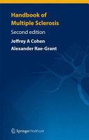 Handbook of Multiple Sclerosis Book
