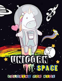 Unicorn SPACE Coloring for Kids