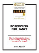 Borrowing Brilliance  Book Review