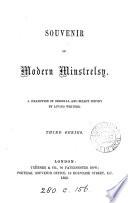 Souvenir of Modern Minstrelsy Book PDF