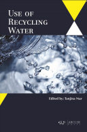 Use of Recycling Water Book