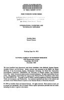 International Patenting and Technology Diffusion