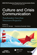 Culture and Crisis Communication  : Transboundary Cases from Nonwestern Perspectives