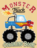 Monster Truck Coloring Book Book