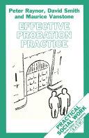 Effective Probation Practice