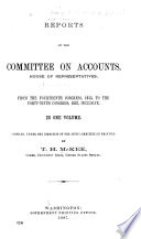 Indexes to Reports of Committees House of Representatives, from the 14th Congress, 1815 to the 49th Congress, 1887, Inclusive