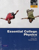 Essential College Physics Book