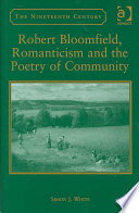 Robert Bloomfield Romanticism And The Poetry Of Community