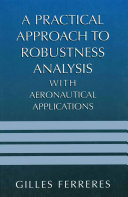 Pdf A Practical Approach to Robustness Analysis with Aeronautical Applications Telecharger