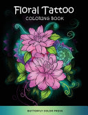 Floral Tattoo Coloring Book