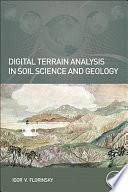 Book Cover: Digital Terrain Analysis in Soil Science Geology