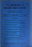 The Journal of Negro Education