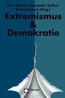 Pdf Jahrbuch Extremismus & Demokratie (E & D) Telecharger
