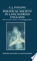 Political Society in Lancastrian England