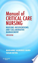 Manual of Critical Care Nursing - E-Book