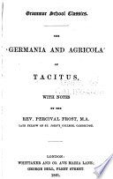The Germania and Agricola of Tacitus Book