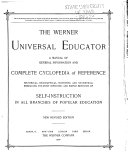 The Werner Universal Educator