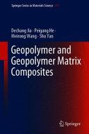 Geopolymer and Geopolymer Matrix Composites Book