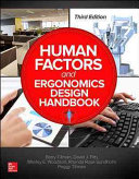 Human Factors and Ergonomics Design Handbook  Third Edition