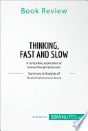 Book Review  Thinking  Fast and Slow by Daniel Kahneman Book