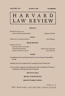 Harvard Law Review: Volume 129, Number 5 - March 2016 Pdf/ePub eBook