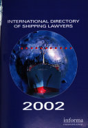 International Directory of Shipping Lawyers 2002