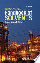 Handbook of Solvents  Volume 1