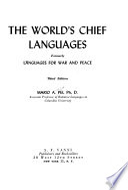 World's Chief Languages
