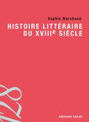 Histoire littéraire du XVIIIe siècle
