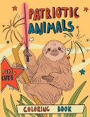 Patriotic Animals Coloring Book
